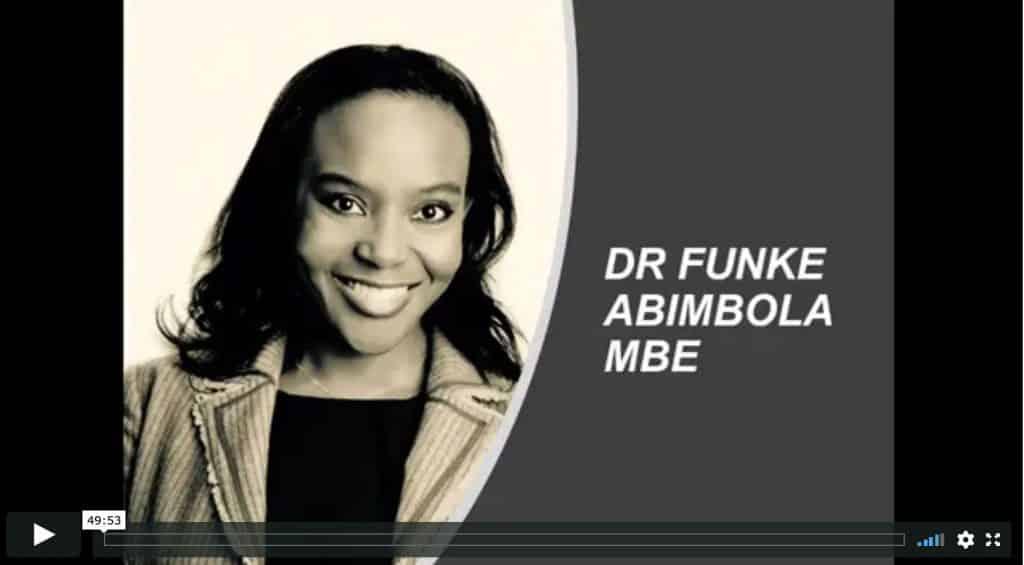 Dr Funke Abimbola