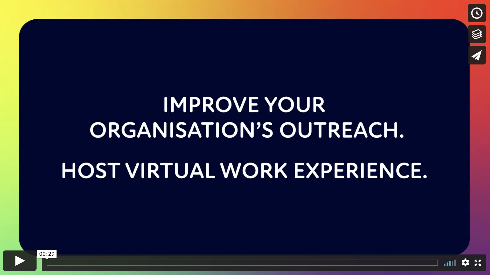 Improve your organisation's outreach -