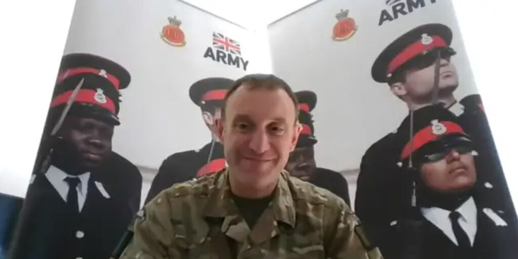 Col Russell Lewis –  Head of Youth Engagement, Royal Military Academy Sandhurst